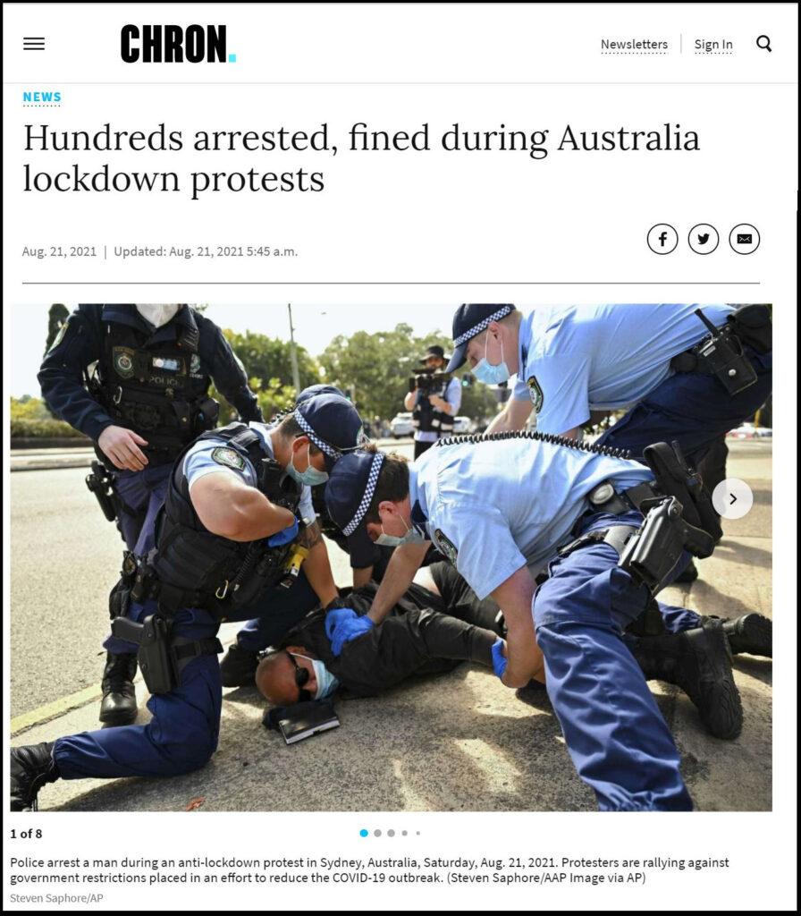 Pandemic Restrictions Enforcement - Australia