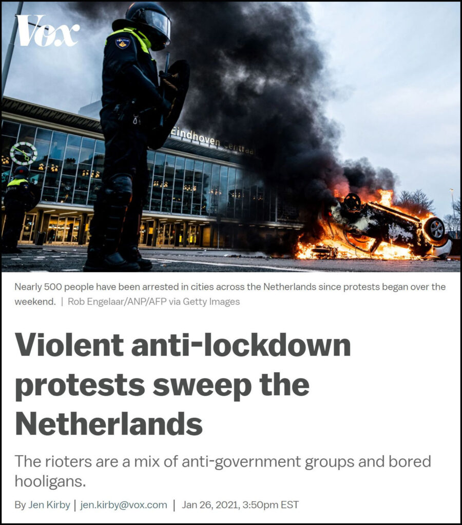 Pandemic Response Enforcement - The Netherlands